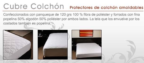 Cubre colchón hotelero