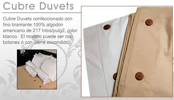 Duvet cover para hoteles