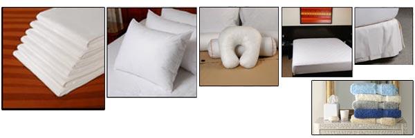 Sábanas toallas y complementos hoteleros